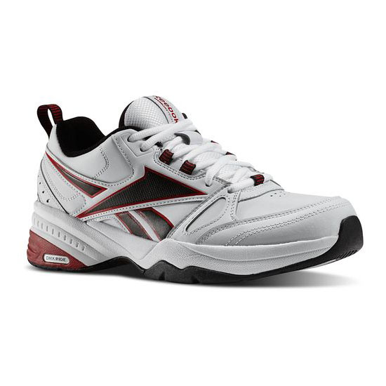 REEBOK MEN'S WALKING REEBOK ROYAL TRAINER MT White / Black / Excellent Red