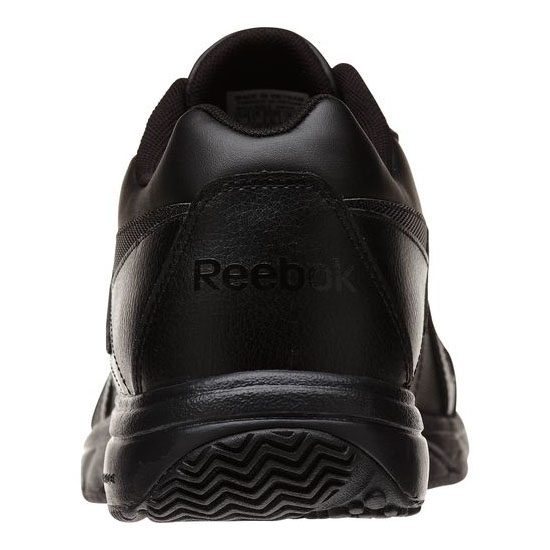 REEBOK MEN\'S WALKING WORK N CUSHION - WIDE 4E Black