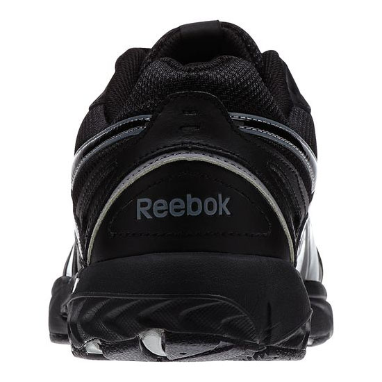 REEBOK MEN\'S WALKING DAILY CUSHION 2.0 RS  Black / Gravel / Flat Grey