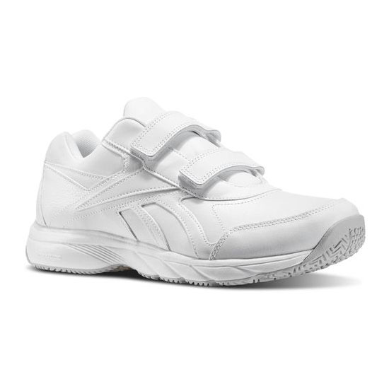 REEBOK MEN'S WALKING WORK N CUSHION KC - WIDE 4E White
