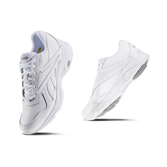REEBOK MEN\'S WALKING WALK ULTRA IV DMX MAX White / White / Flat Grey