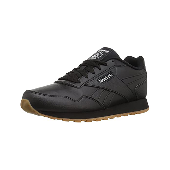 Reebok Womens Classic Leather Harman Run Shoes Us-black/Steel/Gum Outlet