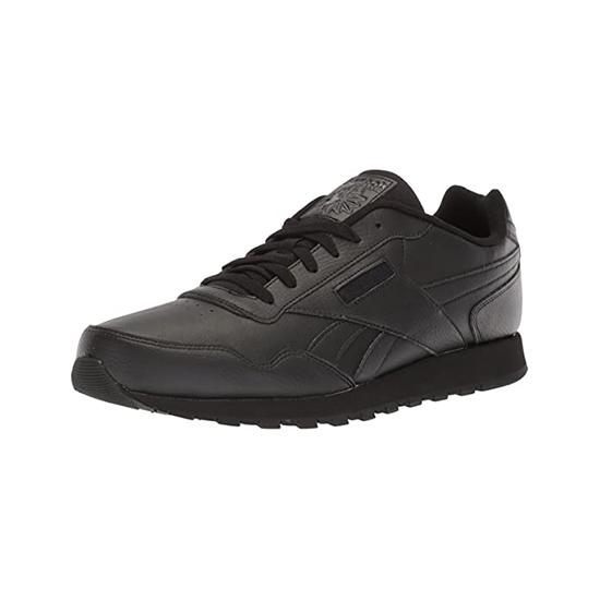 Reebok Womens Classic Leather Harman Run Shoes Us-black/Black Outlet